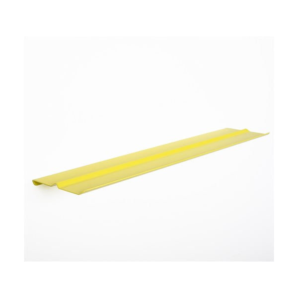 Półka ścienna Tab Shelf by Phil Procter, żółta
