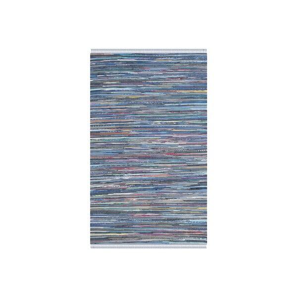 Dywan Elena 91x152 cm, niebieski