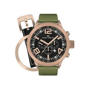 Zegarek męski Marc Coblen z dodatkowym paskiem i obręczą P39
