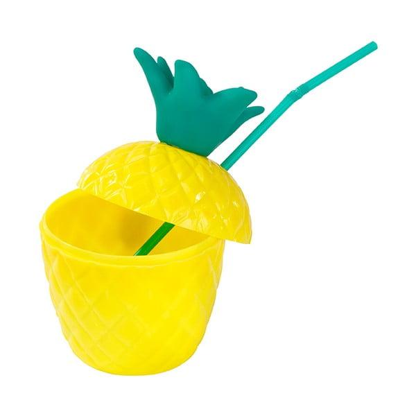 Kubek plastikowy Talking Tables Fiesta Pineapple