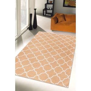 Wytrzymały dywan kuchenny Webtapetti Trellis Apricot, 80x130 cm