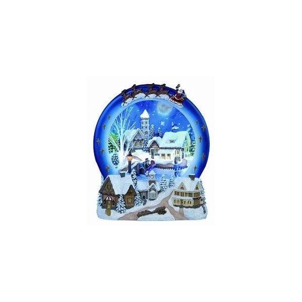 Świecąca i grająca dekoracja Winter Village