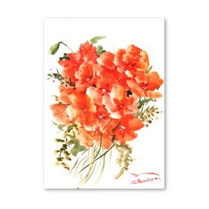 Plakat Flowers Orange (projekt Suren Nersisyan)