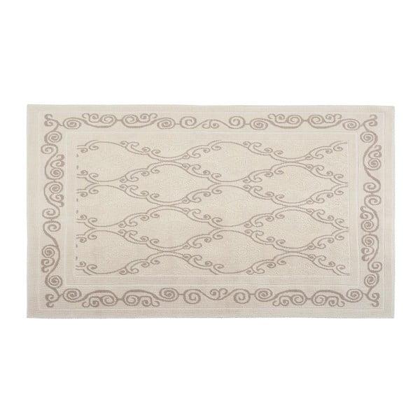 Dywan bawełniany Razi 60x90 cm, kremowy