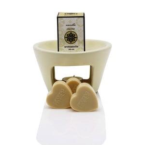 Lampa aromatyczna o zapachu wanilii Aromabotanical Sweet Home, czas palenia30h