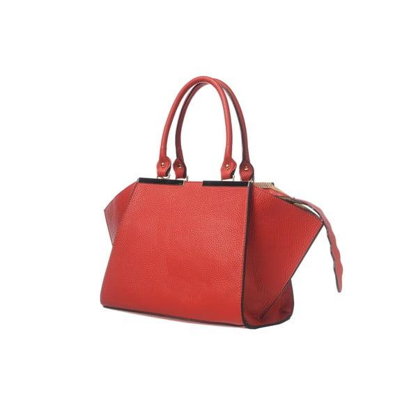 Skórzana torebka Fashion Leather Red