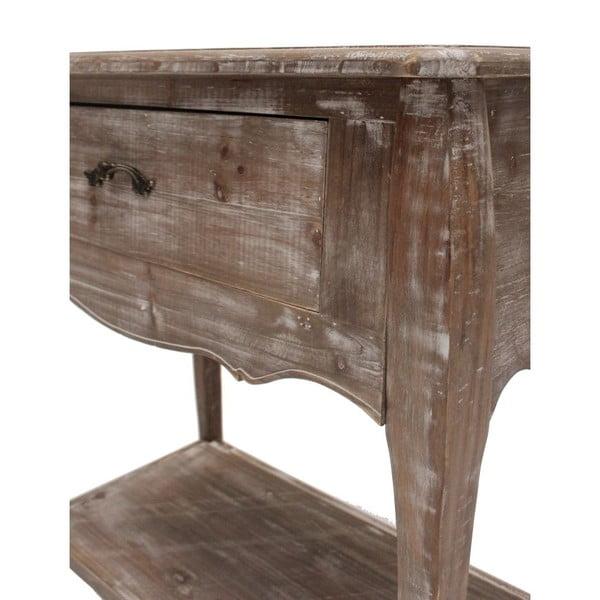 Stolik z szufladą Kamill, 41x81x76 cm