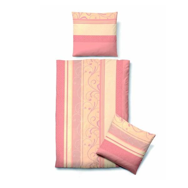 Pościel Biber Komfort Vintage Pink, 135x200 cm