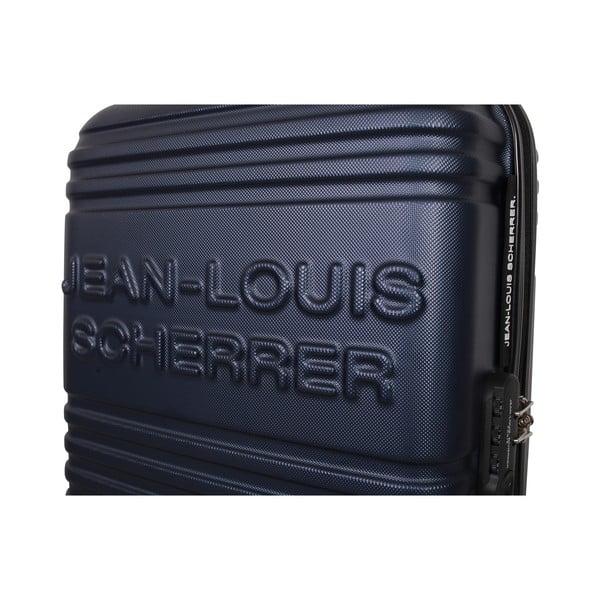 Walizka z bagażem podręcznym Case Jean Louis Scherrer Navy