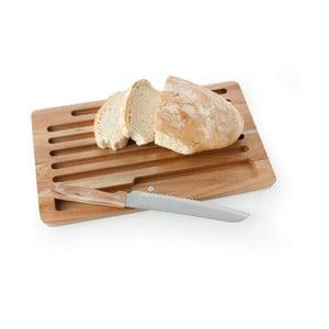 Deska i nóż do krojenia pieczywa Brandani Pain