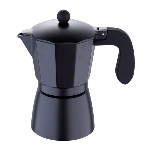 Czarna kawiarka Bergner Florencia, 6filiżanek