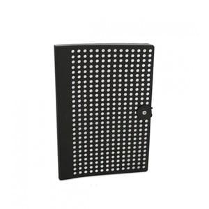 Czarny notatnik B5 Portico Designs Laser