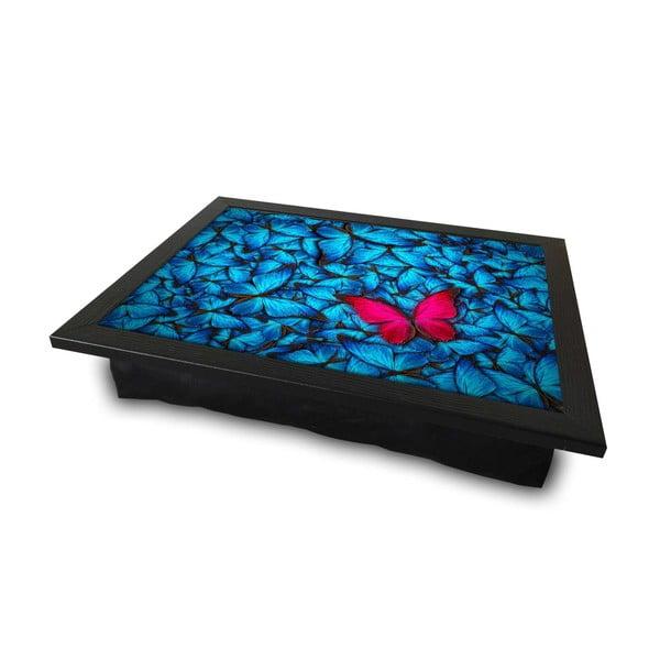 Podstawka z poduszką do łóżka Red Butterfly