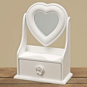 Szkatułka na biżuterię z lusterkiem Heart