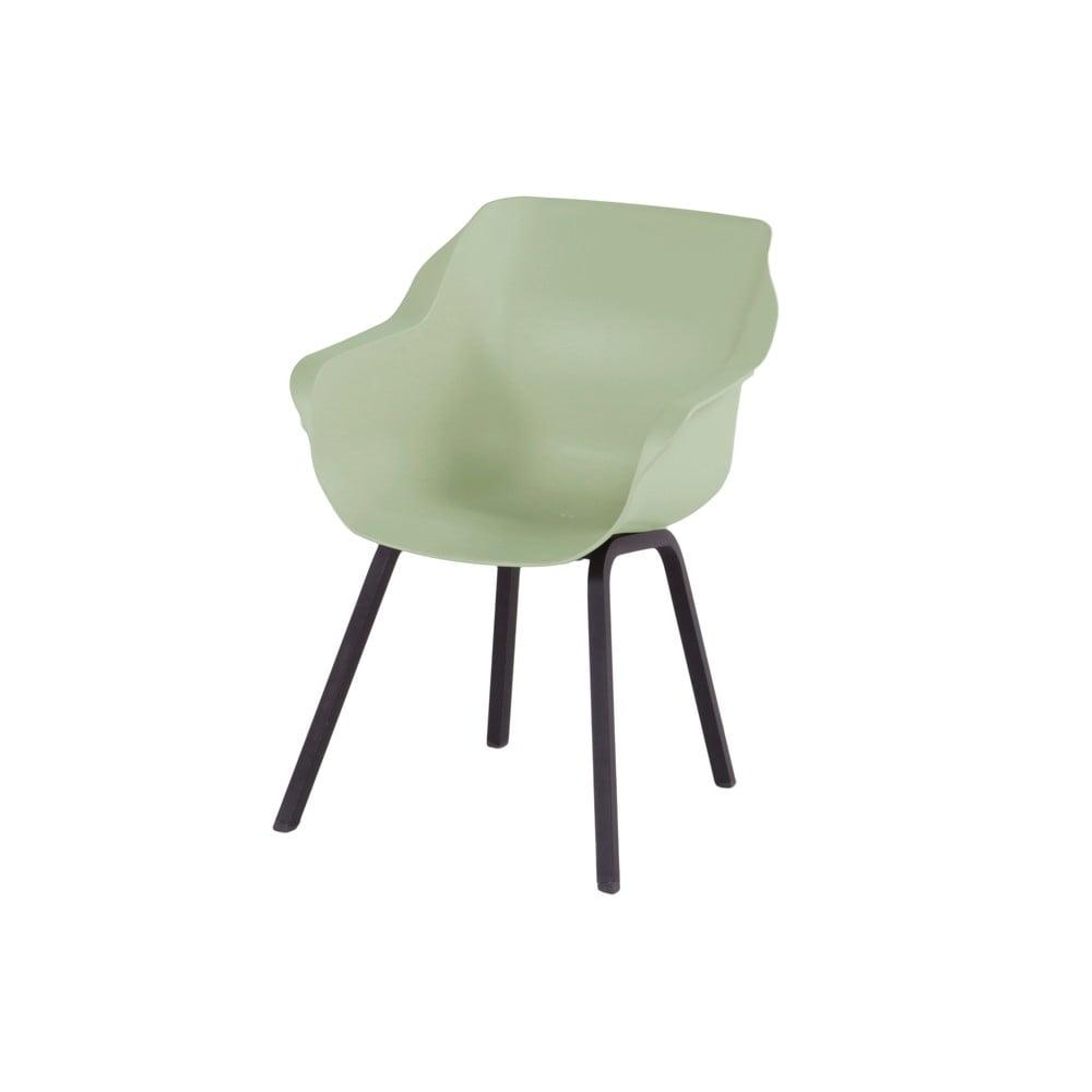 Zestaw 2 jasnozielonych krzeseł ogrodowych Hartman Sophie