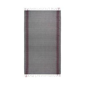 Ręcznik hammam Wayward Black, 95x175 cm