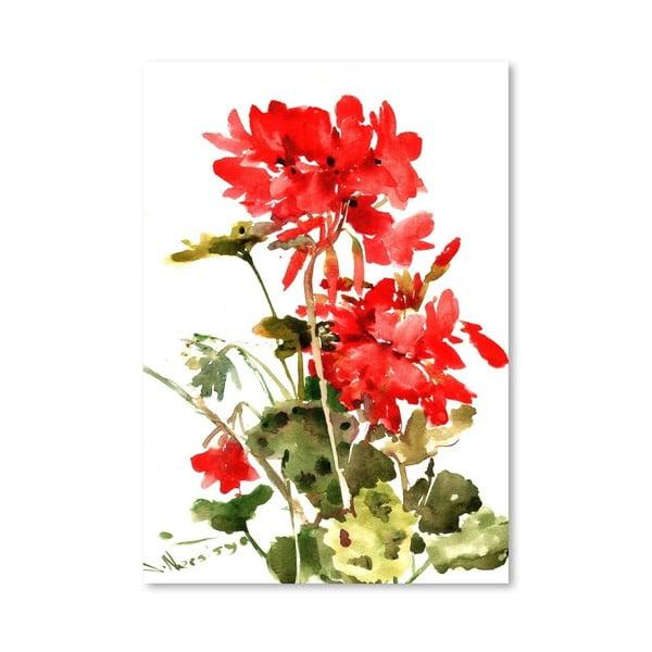 Plakat Geranium (projekt Suren Nersisyan)