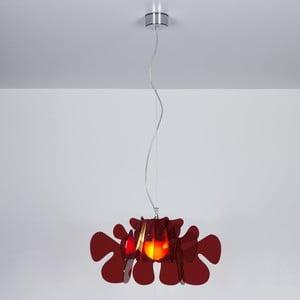Lampa wisząca Aralia Emporium, czerwona
