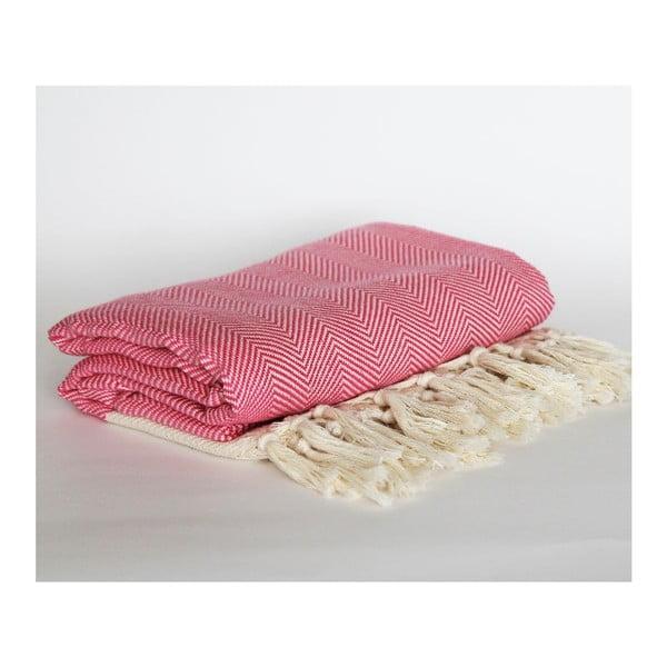Peshtamal Chevron Pink, 95x175 cm