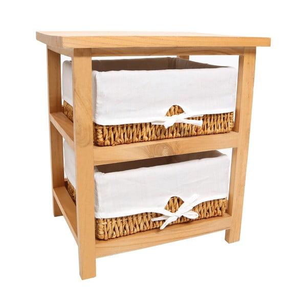 Półka z 2 koszykami Honey