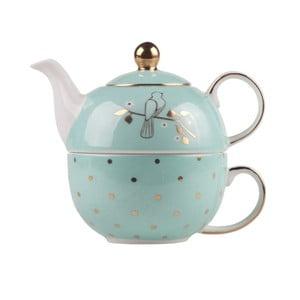Komplet czajnika na herbatę z kubkiem Miss Darcy
