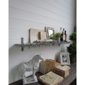 Półka ścienna Grey Antique, 113x23 cm