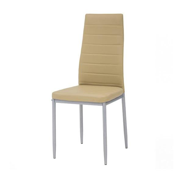 Krzesło Queen, miodowe/szare nogi