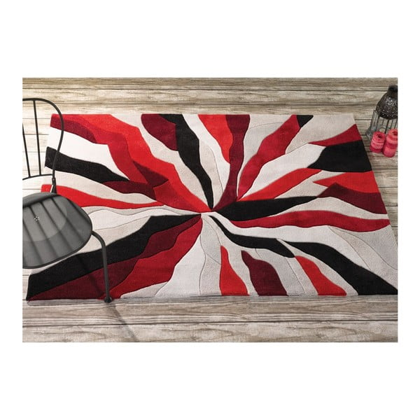Dywan Splinter Red, 80x150 cm