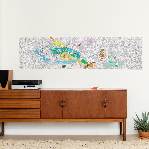 Kolorowanka OMY Four Seasons (180 x 50 cm)