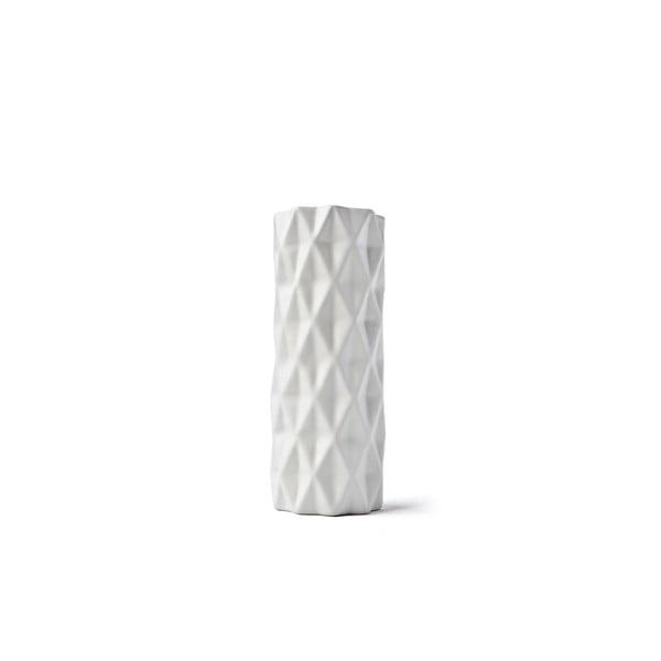 Biały wazon Hawke&Thorn, wysokość 19cm