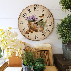 Zegar ścienny Orchidea Herbs