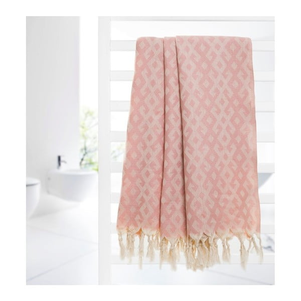 Ręcznik hammam Orient Pink, 95x175 cm