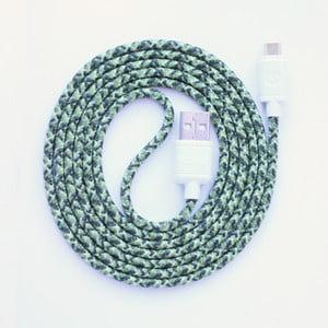 Kabel do ładowania Micro USB Green Camo, 1,5 m