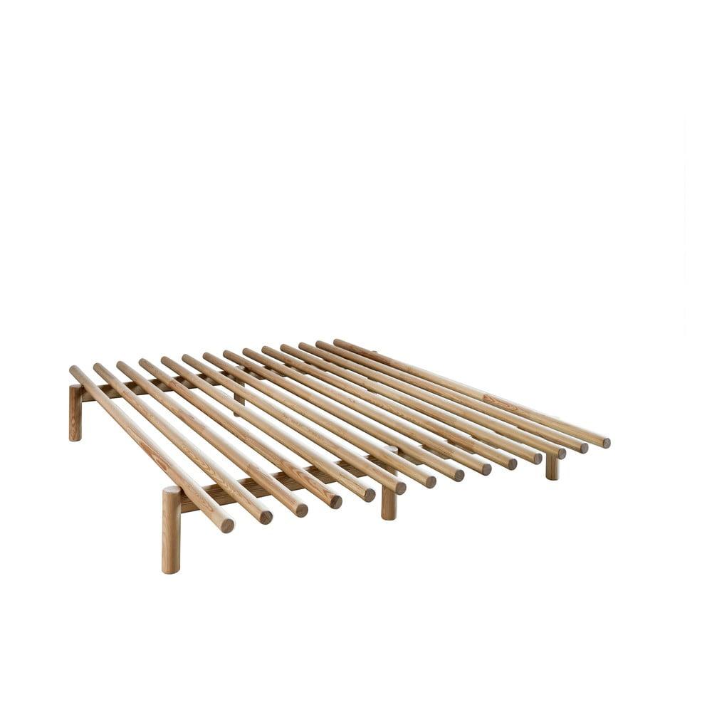 Rama łóżka z drewna sosnowego Karup Design Pace,140x200cm