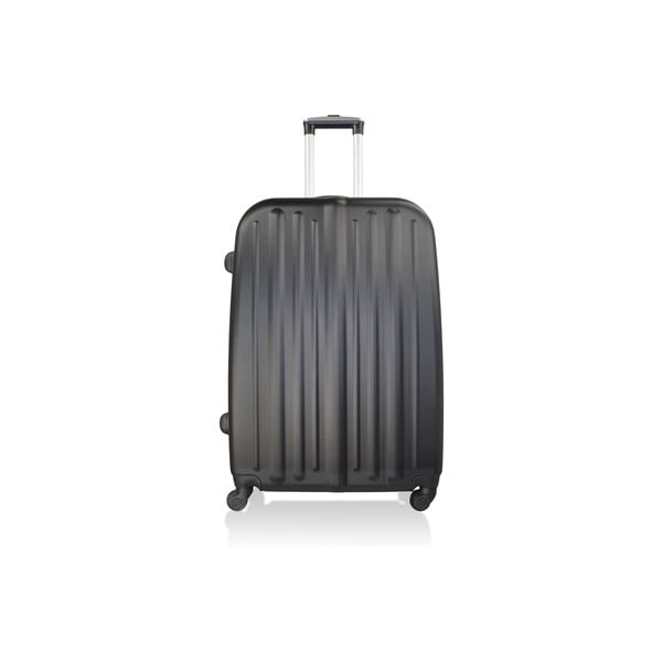 Zestaw 3 czarnych walizek na kółkach Hero Davis