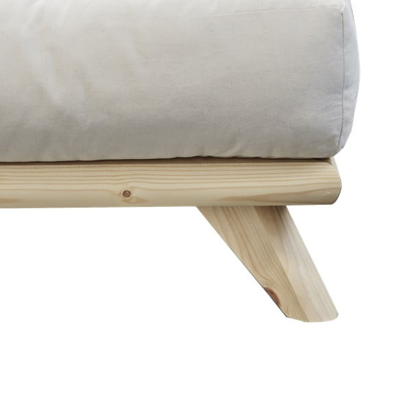 Łóżko Karup Design Senza Bed Natural, 180x200 cm