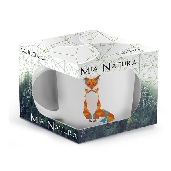 Porcelanowy kubek Vialli Design Wild Fox, 370 ml