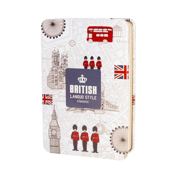 Notes British, biały