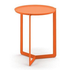 Pomarańczowy stolik MEME Design Round