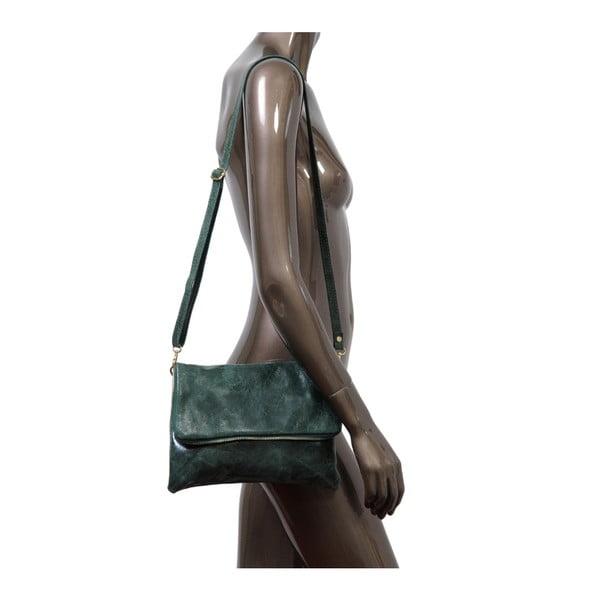 Zielona torebka skórzana Andrea Cardone Marco