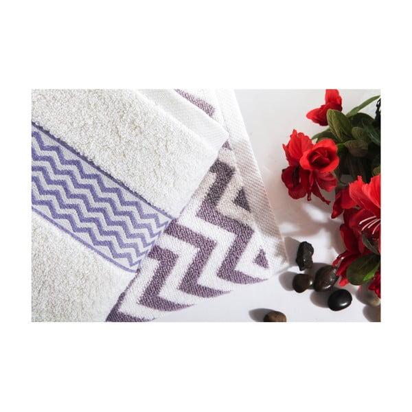Zestaw 2 ręczników Ella V1, 50x90 cm