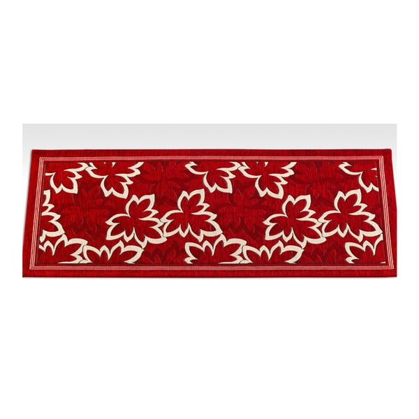 Wytrzymały dywan kuchenny Webtapetti Maple Rosso, 55x240 cm