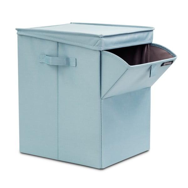 Miętowy pojemnik na pranie Brabantia Hit Mint, 35l