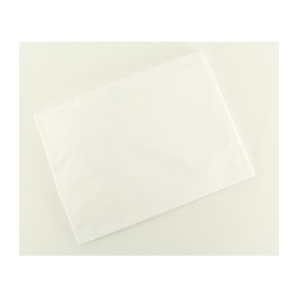Prześcieradło elastyczne Ranforce White, 140x190 cm