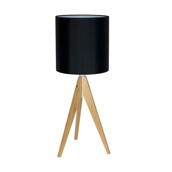 Lampa stołowa Artist Black/Birch, 40x25 cm