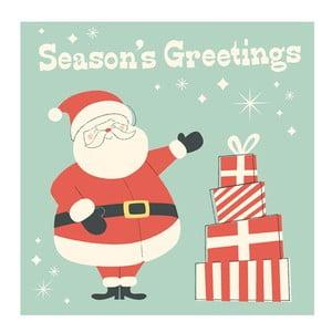 Kartka świąteczna Rex London Santa