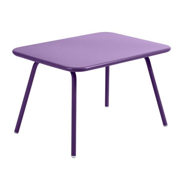 Fioletowy stół dziecięcy Fermob Luxembourg