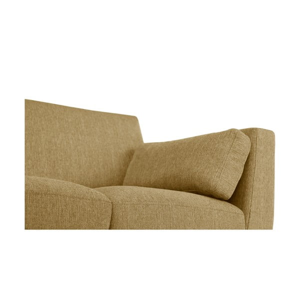 Żółta sofa dwuosobowa Jalouse Maison Elisa