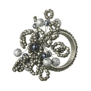 Pierścień na serwetki Parlane Beaded, 9x7 cm