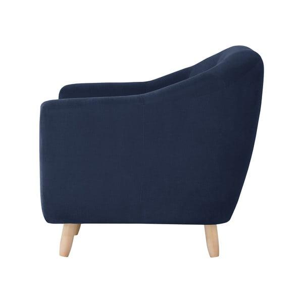 Granatowa sofa dwuosobowa Jalouse Maison Vicky